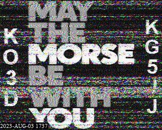 22-Sep-2021 23:37:49 UTC de KO5MO